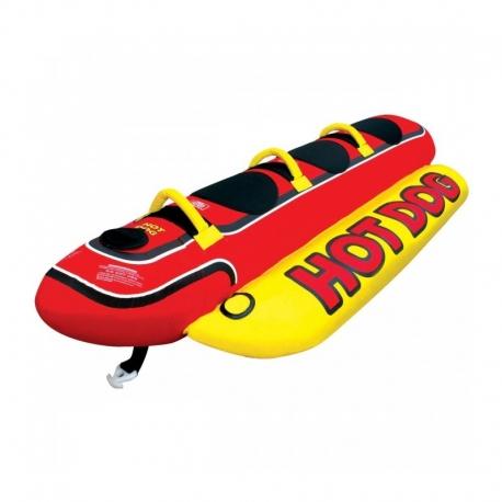 Μπανάνα 3 ατόμων hot dog