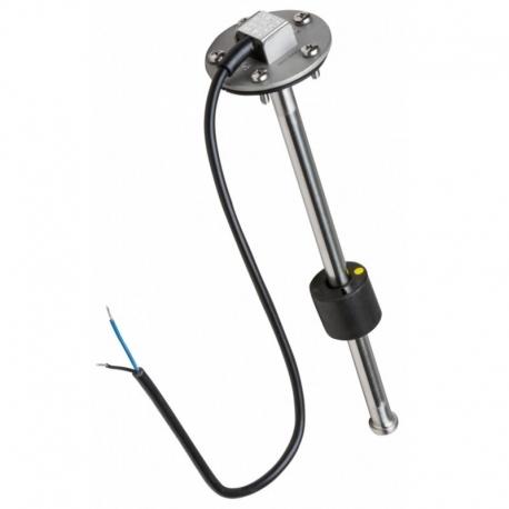 Φλοτέρ καυσίμου inox κάθετης εφαρμογής αμερικάνικου τύπου (240/33ohm)